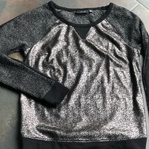 Metallic Shimmer Sweater by Apt 9 Size XS